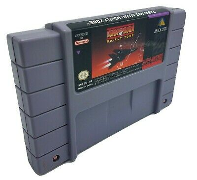 Turn and Burn: No-Fly Zone (Super Nintendo Entertainment System, 1994) Cart Only