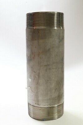4 Inch x 12 Inch 304/304L Stainless Steel Pipe Nipple