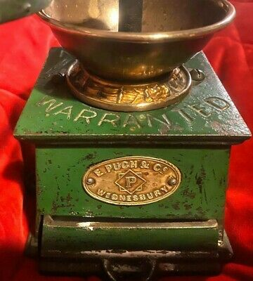 Victorian Coffee Grinding Mill by Pugh, Wednesbury. Great condition