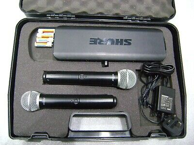 shure BLX-288 dual microphone  with receiver 606-630MHz (101)