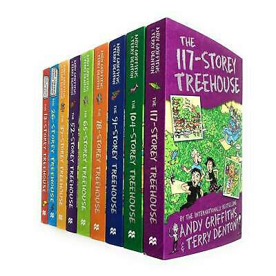 The 13 Storey Treehouse Collection 8 Books Set By Andy Griffiths & Terry Denton