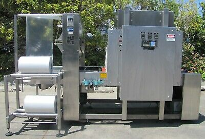 API Automation Packaging Machine 2700 Shrink Bundler Sealer with Heat Tunnel