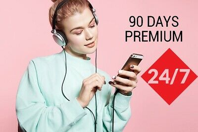 Spotify Premium 90 days 3 months INSTANT delivery LEGIT