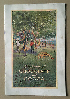 1926 Hershey's The Story of Chocolate and Cocoa Booklet
