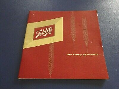 1951 The Story of Schlitz, Souvenir Beer Booklet