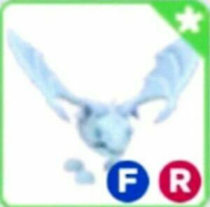 Frost Dragon Fly Ride Legendary Adopt Me Roblox Super Very Rare FR RF
