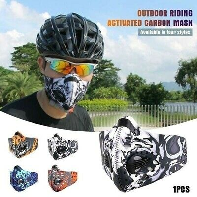 Haze Fog Mouth Cover Anti-droplets Cycling Protective Mouth-muffle Face Shield
