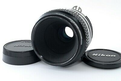 NIKON Ai Micro NIKKOR 55mm f/3.5 MF Lens F Mount [Exc+++] From JAPAN F/S 609258