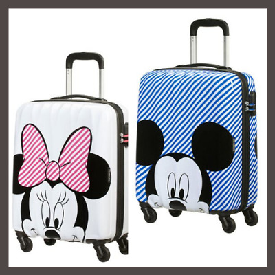 American-Tourister Disney Cabin Case Mickey & Minnie Hardside Spinner Cabin Case