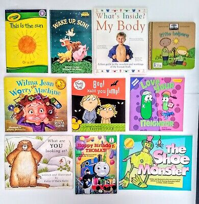 Lot Of 10 Children's Picture Books - Bedtime Or Read Alouds - Paperbacks