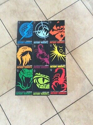 Alex Rider Missions 9 Books Collection Set By Anthony Horowitz