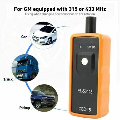 EL-50448 Auto Tire Pressure Monitor Sensor TPMS Relearn Reset For GM Ford Chevy