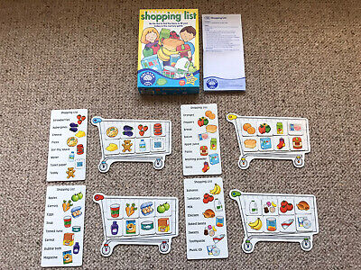 Orchard Toys Shopping List Educational Game, Complete