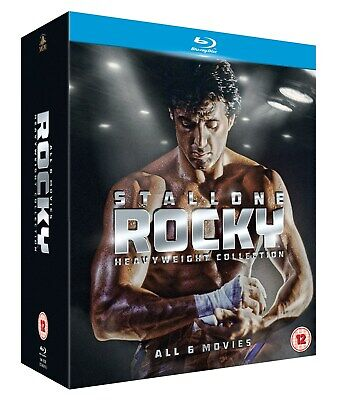 Rocky: The Heavyweight Collection (Box Set) [Blu-ray]