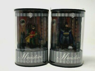 Warner Bros Batman & Robin Miniature Classic Animated Series Collection Lot