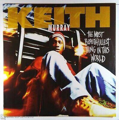 """Keith Murray The Most Beautifullest Thing In The World 12"""" LP 1994 DJ Glossy M-"""