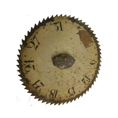 Vintage LongCase Clock 31 Day Date Wheel for a Painted Dial ca. 1820
