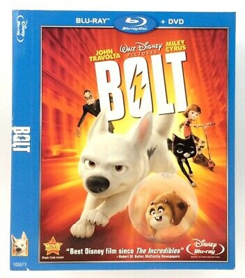 Bolt *Slipcover ONLY* for Blu-ray WALT DISNEY Pictures