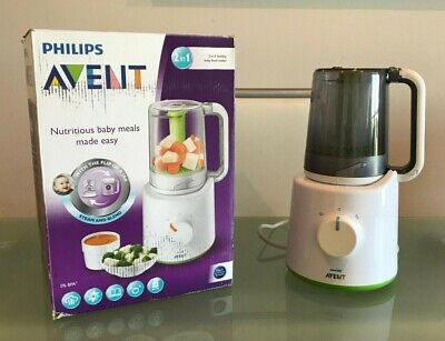 Philips Avent 2 in 1 Healthy Baby Food Maker Combined Steam & Blender