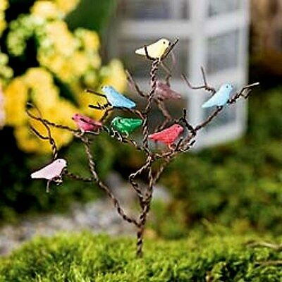 Songbird Tree  JE 80430 for Miniature Fairy Faerie Gnome Garden