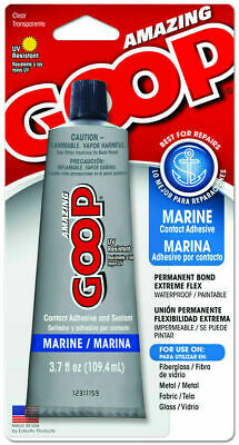 Eclectic Products 17012 Amazing Marine Goop Glue Adhesive Sealant 3.7oz Clear