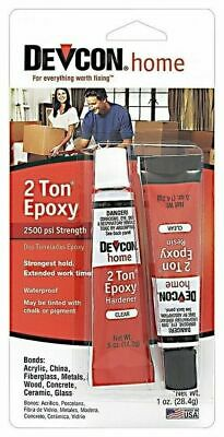Devcon 35345 Clear 2 Ton High Strength Epoxy Glue Waterproof Adhesive 35345