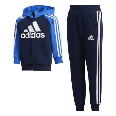 ADIDAS PERFORMANCE KINDER Trainingsanzug Hooded Tracksuit