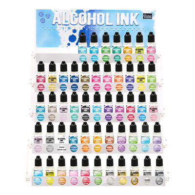 Couture Creations Alcohol Ink 12ml Bottle Quality Inks 51 Colours available Art
