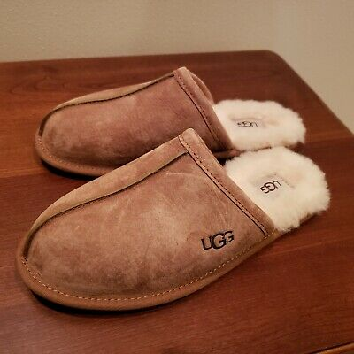 UGG  Australia Pearle Genuine Leather and Shearling Lined Slippers Women's sz 9