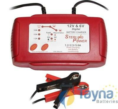 Sterling Power 12V 5A Portable Batterie Charger B125