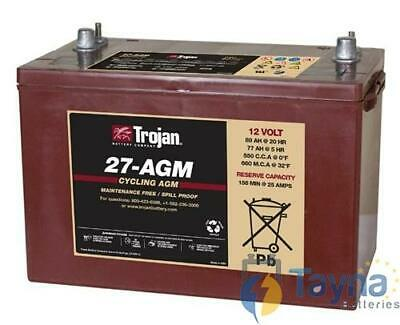 27-AGM Trojan Deep-Cycle AGM Batterie