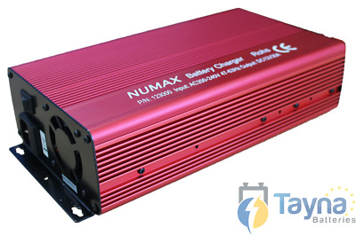 Numax Commercial Batterie Charger 12V 30A