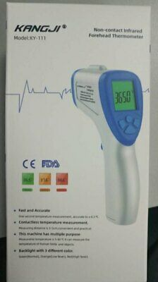 Digital Non Contact Infrared Forehead Thermometer Adult & Baby FDA