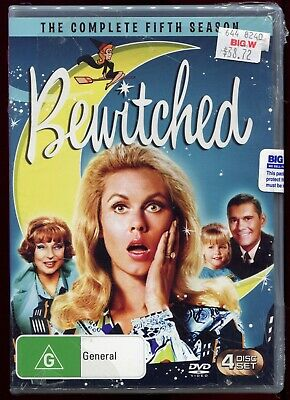 Bewitched The Complete Fifth Season (DVD TV Series) 4 Disc Set