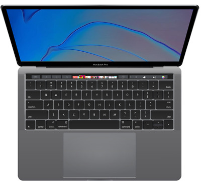 """2019 13"""" MacBook Pro """"Touch Bar"""" 1.4GHz Intel Core i5/8GB/128GB Flash/Space Gray"""