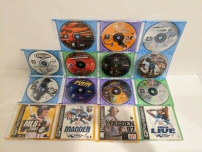 PlayStation 1 ps1 Game lot Assorted Games Some With Manuals Need For Speed NBA