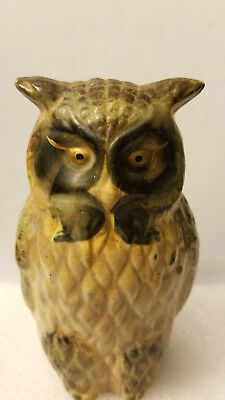 Vintage Owl Figurine Made in Japan,tall 6 1/4''