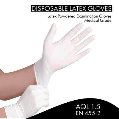 Strong Nitrile Gloves Disposable Latex Free Vinyl Powder Free Medical Grade Blue