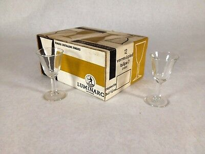 LUMINARC TULIP CRYSTAL Wine Water Clear