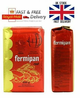 FAST ACTION Instant Dried Yeast 25g-50- 500g FREE POSTAGE by Fermipan for BAKING