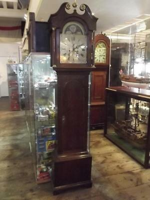 Circa 1790 Fine 8 Day Welsh Longcase Clock By Evan Williams Of Neath