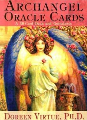 Archangel Oracle Cards - Cards By Virtue, Doreen - VERY GOOD