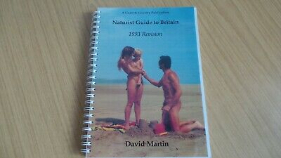 Naturist Guide to Britain 1993 Revision by David Martin
