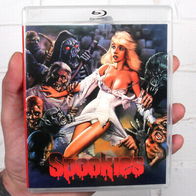 Spookies (1986) Vinegar Syndrome | 2-Disc Set | New | Sealed | Blu-ray