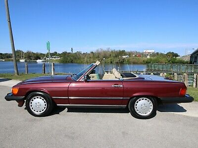1989 Mercedes-Benz SL-Class 560SL 1989 Mercedes-Benz 560 SL Last Year, Low Miles, Best Color Option!