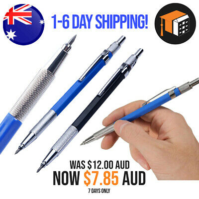 Mechanical Clutch Drafting Pencil With 2B 2mm Lead Architect Drawing AUSTRALIAN