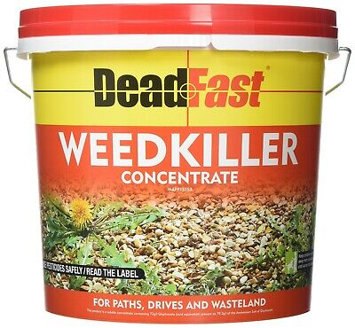 Deadfast Concentrated Weed Killer Sachets Living Plant Tissue On Path 12 X 100ml