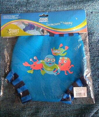 Zoggs Swimsure Nappy Blue XXL 18 Months/14kg+