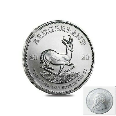 2020 1oz South African Krugerrand 1 ounce Silver Bullion Coin BU