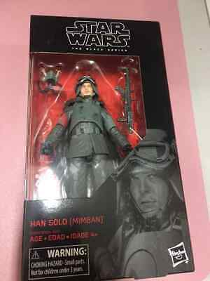 "Star Wars The Black Series #78  6"": HAN SOLO (MIMBAN)  MUDTROOPER NEW"